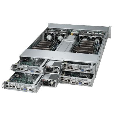 Quad Node Dual 22-Core Xeon