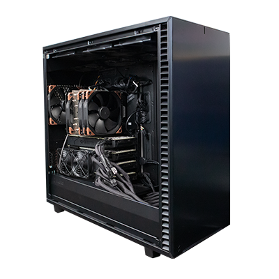 GPU AMD 32-Core Threadripper 3970X (4x 2080Ti)